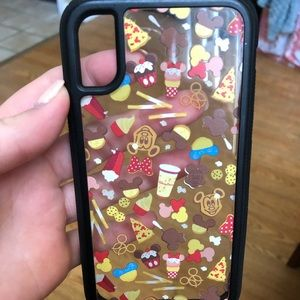 Mickey food iPhone X phone case